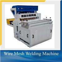 Wire mesh welding machine for rolling mesh and fence panel