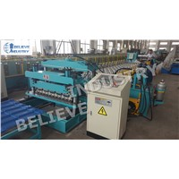New Design Metal Roof Tile Roll Forming Machine