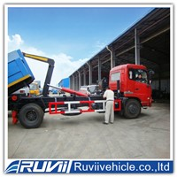 ZJH5040ZLJ 4X2 8ton Hook Lift Garbage Truck For Sale