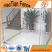6'H x 10'L x 5'W Hot-dipped Galvanzied Chain Link Dog kennel