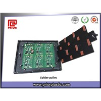 Custom Wave Solder Pallet with Top Hat Plate for PCBA
