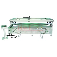 High precision large screen printer