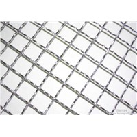 Stainless Steel or Galvanized Crimped Wire Mesh