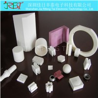 Thermal conductive insulating electronic ceramic substrate sheet