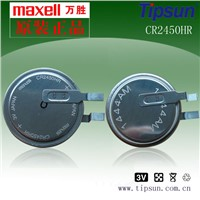 UL MSDS Maxell CR2450HR Heat Resistant Lithium Button Battery for TPMS