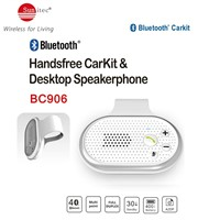 Car Kit Bluetooth Portable Multipoint Wireless Hands-free Bluetooth Sun Visor In-car Speakerphone