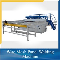 50x100 Automatic Welded Wire Mesh Fence Panels Making Machine