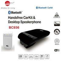 Universal Bluetooth Sun Visor Multipoint Handsfree Speakerphone Car kit - Wireless Vehicle Speaker