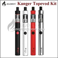 kanger top evod kit with black, white, red and ss in stock fit for EU market well
