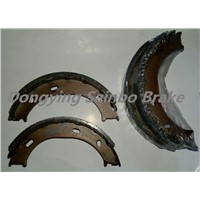 semimetal auto brake shoes