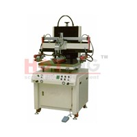 Motor driven semi auto screen printing machine