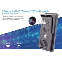 AlyBell WiFi wireless 1MP P2P wide angle 120 degrees long range digital peephole door viewer