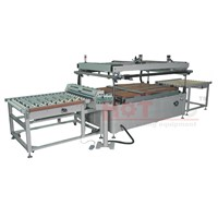 Automatic glass screen printing machine