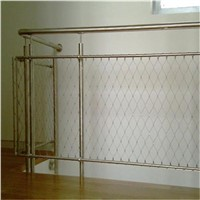 Hand Woven Style And Woven Wire Mesh Application Balustrade Infill Mesh