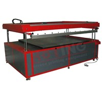 Large format electrical screen printer