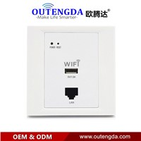 WPL6003 Switch socket 86 WIFI wireless ap router USB wifi in wall access point into the wall socket