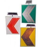 High quality solar road safety traffic signs