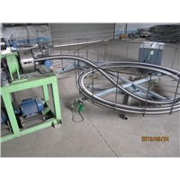 continuous annular flexible hose forming machine
