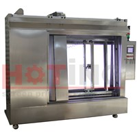 Automatic screen washout booth