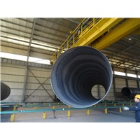 ASME Carbon Steel SSAW Steel Pipe