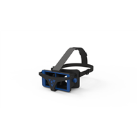 vr 3d glasses plastic headset display with immersive technology for vr feeling