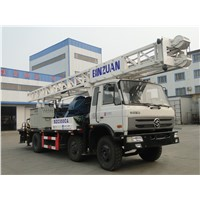Truck With drill rig