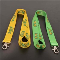 Fashion polyester custom lanyard neck belt with good price