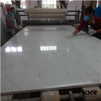 KKR High Quality Big Slab Carrara Quartz Slab