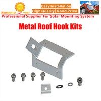 Trapezoidal Fastening Roof Hook for Solar Mounting Structure