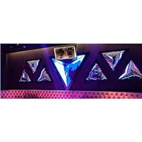 Customized Shape Indoor Triangle LED Screen