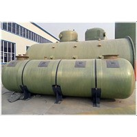 FRP tank / all kinds of capacities / environmental protection