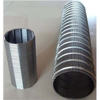 Filtering wedge wire screen