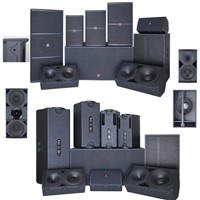Audio Loudspeaker High Quality PA Speakers Professional 15 Inch