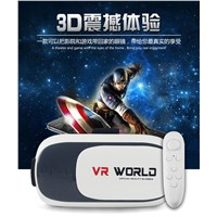 "VR 3D GLASSES Virtual Reality Headset for 3.5"" - 6.0 "" Mobile Phone"
