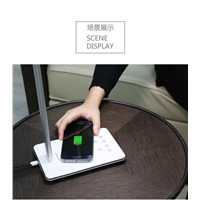 WD-102 Wireless charger Desktop Bed LED Dimming Touch Lamp