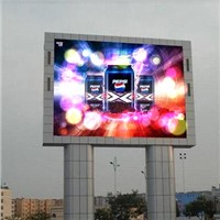 1/4 Scan Outdoor P10 LED Billboard for Advertising
