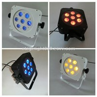 5 in 1 RGBAW 15W china LED par cans,china disco light,flat LED par dmx