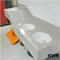 Acrylic Solid Surface Stone Bathroom Vanity top