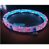 Indoor Big Circle Ring Led Screen P4