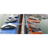 Marine module floating dock