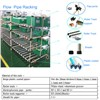 Lean pipe joint system| Pipe rack fitting