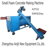 Small mini CLC foam concrete making machine