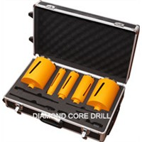 diamond core drill 5 sets