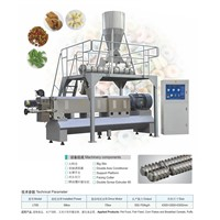 LT85 double-screw extruder