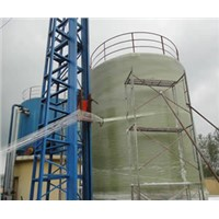 Vertical Winding Machine for Large Scale FRP Tanks