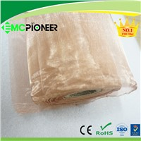 flat copper wire mesh for electromagnetic shielding