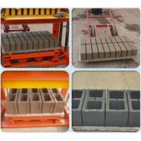 Egg-laying Movable Cement Block Machine- QTJ4-40 Sell Well At Africa