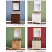 Inset Doors Bath Cabinets Solid Wood Face Frame Plywood Sides