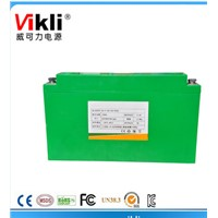 Long cycle life LFP battery 100AH for electric trolleys