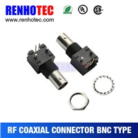 R/A female bnc adapter bnc plastic connector